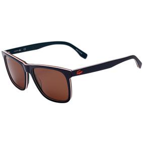 3de6df771bb27 0lacoste L 875 S - Óculos De Sol 424 Azul Brilho  Laranja