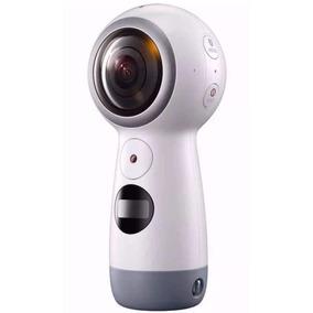 Câmera Samsung Gear 360° Sm-r210 2017 4k Bluetooth Usb Nova