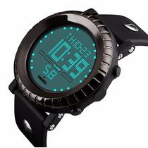 Men Fashion Militar Stainless Steel Digital Led Reloj Steel
