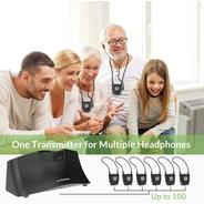 Avantree Ht380 Amplificador Fones Para Tv E Fala P/ Idosos