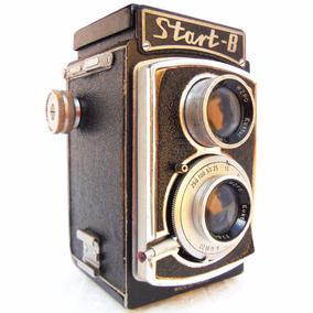 Antiga Maquina Fotográfica Câmera Start B Foto Objeto Antigo