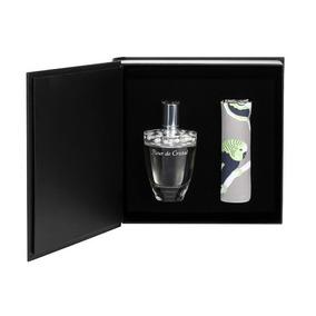 Perfume Fleur De Cristal Lalique Cofre Edp100ml +pañuelo