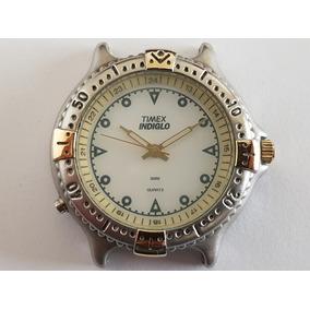 c2f37166399 Relógio Antigo Timex Indiglo Daydate - Relógios no Mercado Livre Brasil