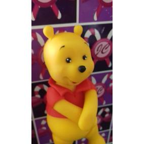 Personajes De Winnie Pooh En Porcelana Fría Para Torta