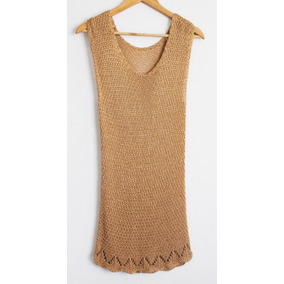 Crochetchile Polera Tejida 100% Sedabril, Talla M