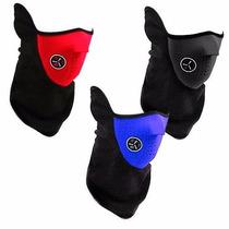 Lote 5 Mascaras Neopreno (frio, Motosiclista Envio Gratis)