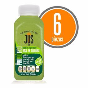Piña-manzana Probiótico Caja 6 Pza Bebida Cold Press 350ml