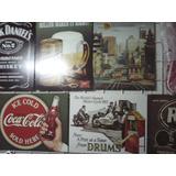 25 Posters Metalicos Tipo Vintage Retro En Lamina Envio Grat