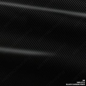 3m 1080 Cf12 Negro Carbon Fibre 24 \x12\ Vinilo Flex Wrap