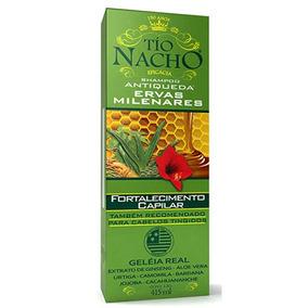 Sh Tío Nacho Ervas Milenares 415ml - Farmácia Rmcfarma