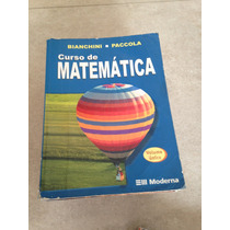 Curso De Matemática Bianchini E Paccola Editora Moderna