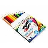 10 Caixas Lápis De Cor Pequeno 12 Cores - Sem Personalizar
