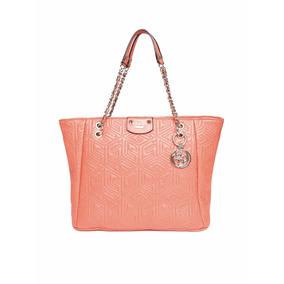 Bolsa Guess Vg621223 Coral Orange