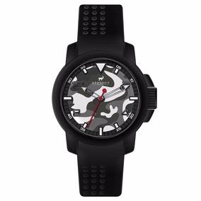 Reloj Analógico Steiner Fondo Camuflaje St22451h