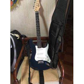Fender Squier Bullet, Con Bolso Y Cuerdas De Repuesto