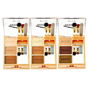 Kit Brow Fix Ligth - Médium - Dark Milani