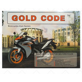 Bluefire® Segurança Moto Sistema De Alarme Gold Code Barato