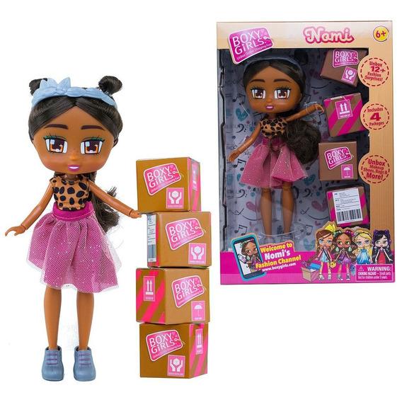 Mu?eca Boxy Girls Juguete Nenas Incluye Accesorios Coleccion