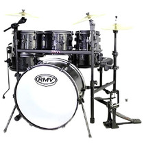 Bateria Rmv Rock Up (bumbo 22 , Tons 08 /10 /12 , Surdo 14)