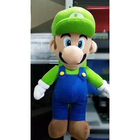 Boneco De Pelucia Luigi Bros, Importado Dos Eua, Licenciado