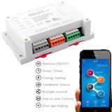 Sonoff Ch4 Relay Wifi Domotica App Celular Inteeruptor Nuevo