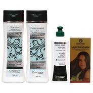 Kit 1 Shampoo, 1 Condicionador, 1 Creme 1 Loção Queda Cabelo