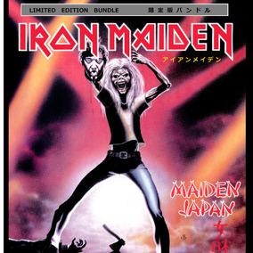 * Iron Maiden - Box Maiden Japan - Cd + Bandeira + Adesivo