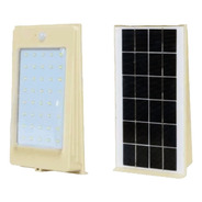 Lampara Solar Led 4w Recargable Con Kit Encendido Automatico