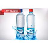 Agua Mineral Vital 600cc Comerciantes Display 12 Unidades