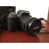 Canon Eos Rebel Sl2 Con Efs 18-55mm