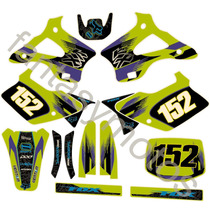 Calcos Kawasaki Kx125-250 94-98 Competicion Kit Completo Fox