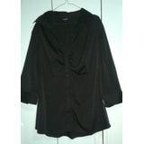 Blusa Talle Especial Xxg Color Negro