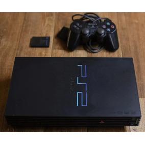 Playstation 2 Fat Tijolão Destravado Leitor Defeito Ps2