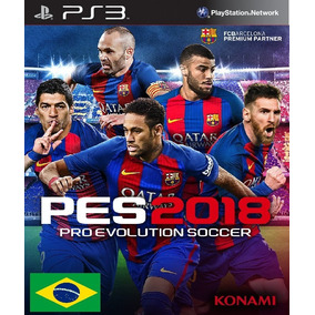 Pro Evolution Soccer 2018 Pes 18 Psn Ps3 Código Digital