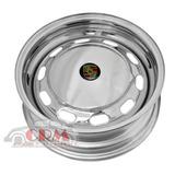 Roda Fusca Mexicano/ Porsche Modelo Novo De 10 Janelas Croma