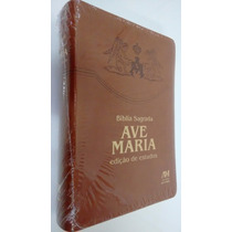 Bíblia Sagrada Ave Maria De Estudos Sagrada Escritura Teolog