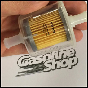 Filtro Gasolina Transparente Vw Fusca Gol Ap Weber Turbo 3e