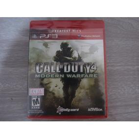 Call Of Duty 4 Modern Warfare Sony Playstation 3 Ps3