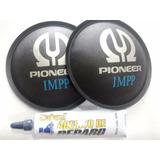 2- Protetor Calota P/ Alto Falante Pioneer Impp 120mm + Cola
