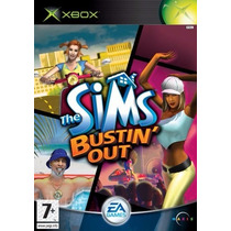 Game The Sims Bustin Out Xbox Classico Original A6218