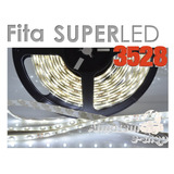 Fita Superled 3528 Rolo 5m 300 Leds Branca 12v Automotiva