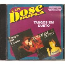 Duo Guaruja Teixeirinha Tibagi Miltinho Zilo Zalo, Cd Tangos