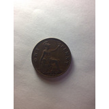 Moneda One Penny 1936 Inglaterra