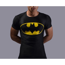 Playera Under Armour (original) Batman Marvel Licra Lycra