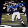 Poster Autografiado Earl Campbell Houston Oilers Nfl Titans