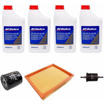 Kit Troca Oleo Corsa Classic Ac Delco 5w 30 4litro + Filtros
