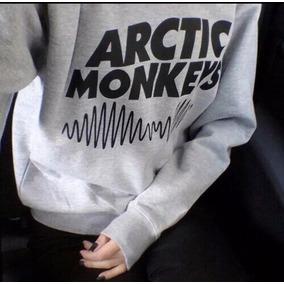 Blusa Moletom Gola Redonda - Arctic Monkeys (banda) Unissex
