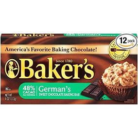 Del Alemán De Baker Barra Dulce De Chocolate Para Hornear, D