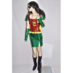 Disfraz De Robin Para Dama