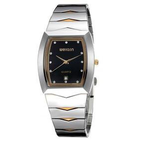Relógio Feminino Weiqin W0045bg Analógico Preto Com Nf
